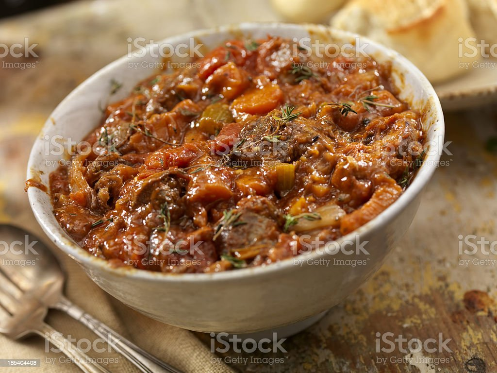 Osso Buco Stew royalty-free stock photo