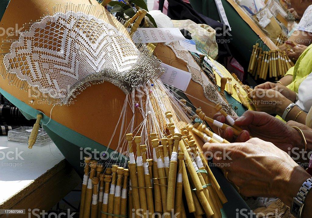 Bone lace royalty-free stock photo