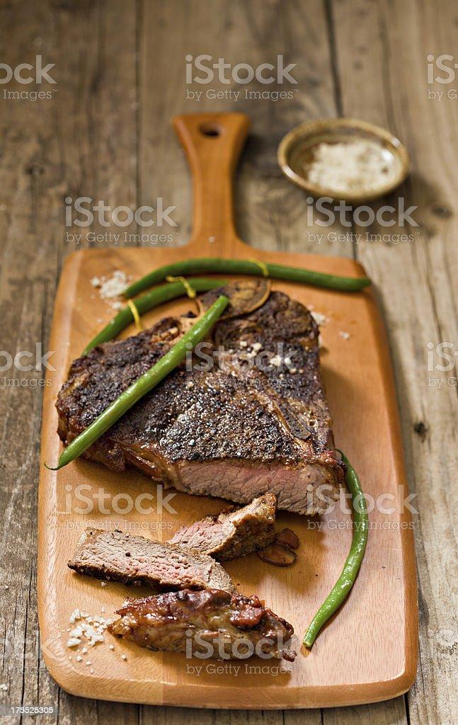 T Bone Steak royalty-free stock photo