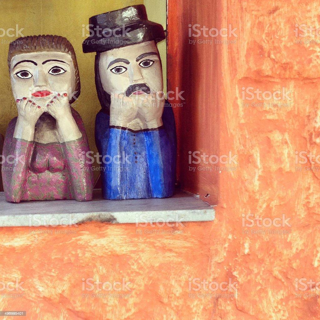 Bonecos stock photo