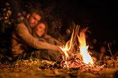 Bonfire at night!
