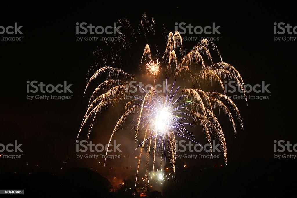 Bonfire night royalty-free stock photo