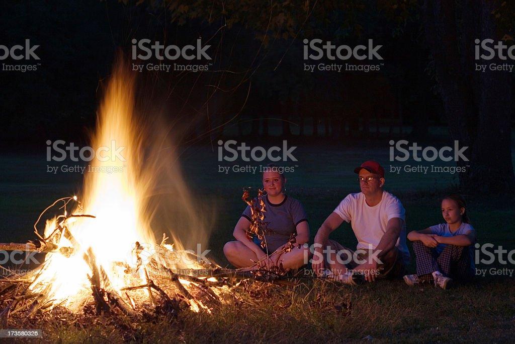 Bonfire royalty-free stock photo