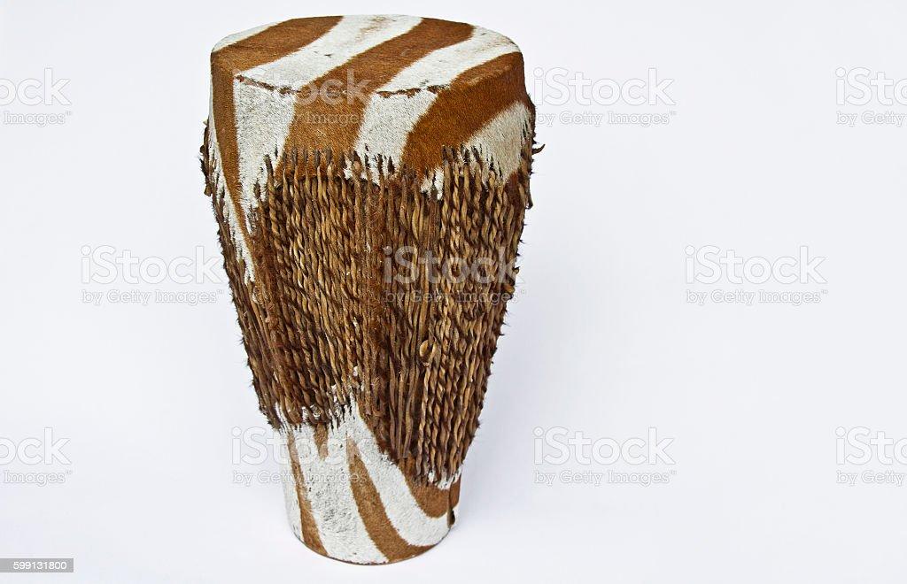 Bongo drum - African Percussion Instrument stock photo