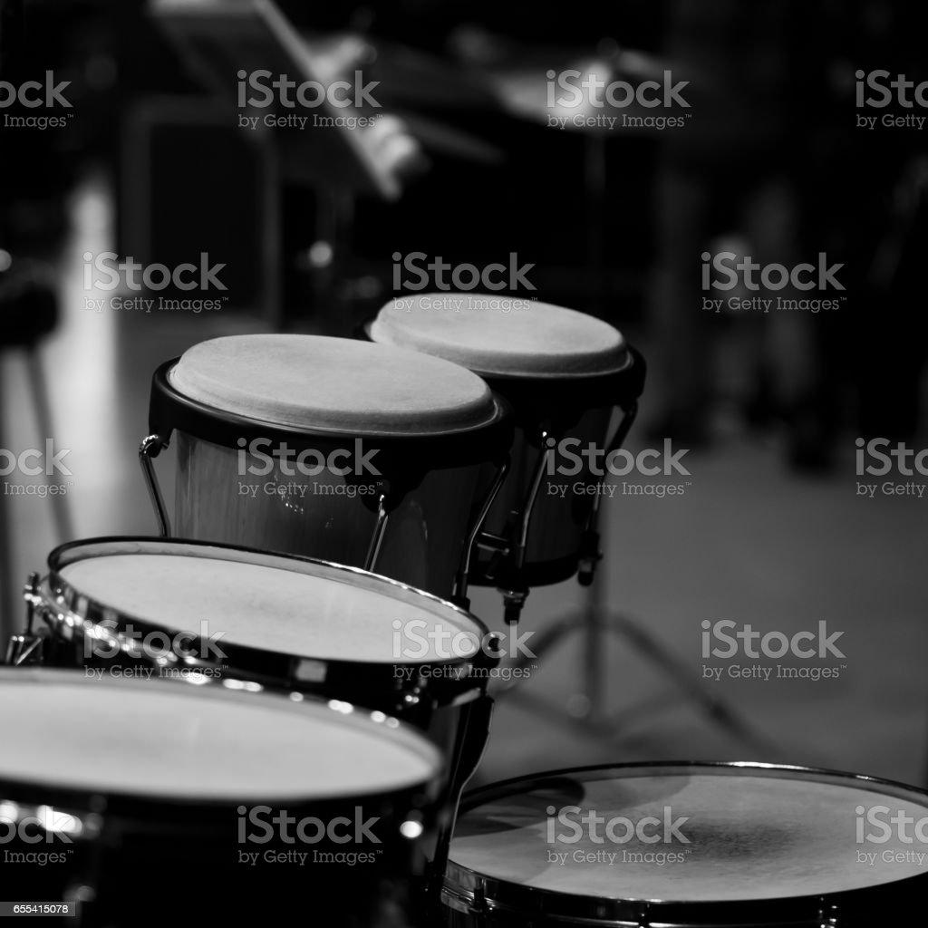 Bongo drum stock photo