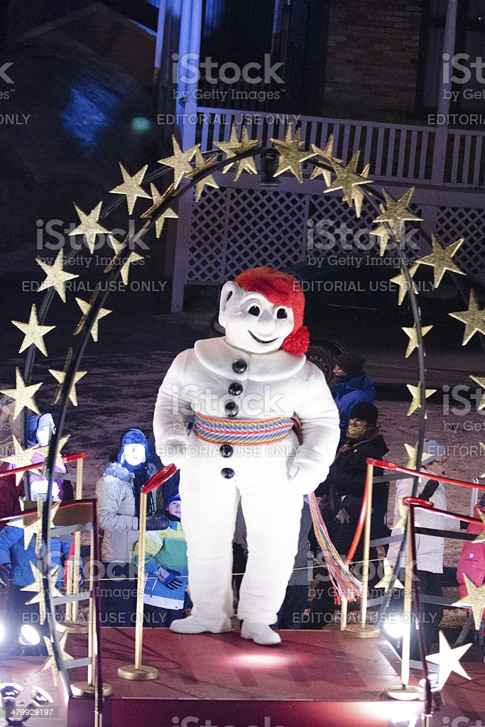 Bonhomme Carnaval stock photo