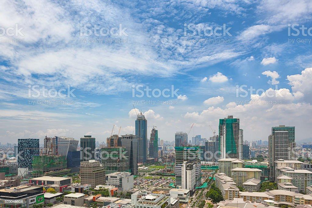 Bonifacio Global City stock photo