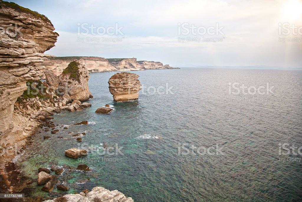 Bonifacio stock photo