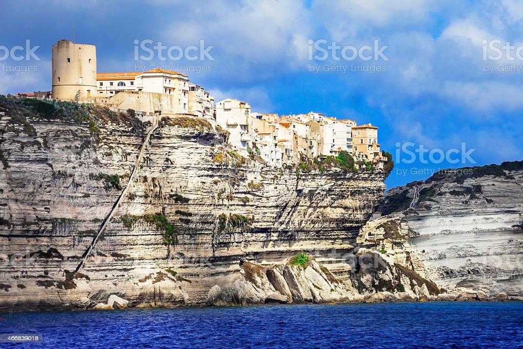 Bonifacio,Corsica,France stock photo