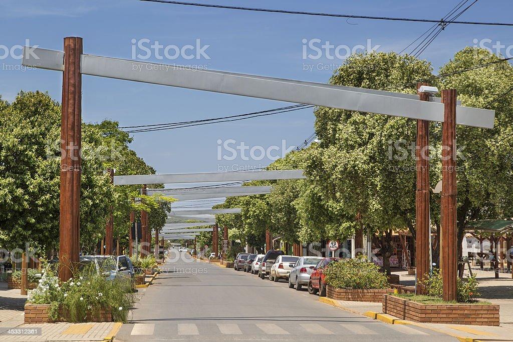 Bonito city in Mato Grosso do Sul, Brazil stock photo