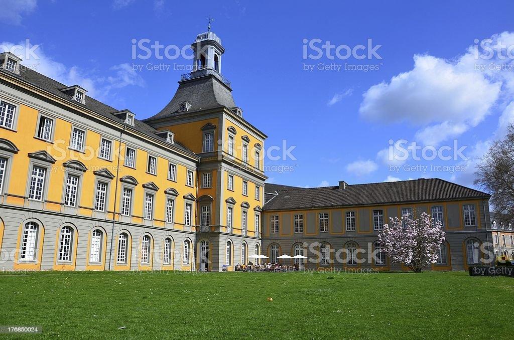 Bonn University royalty-free stock photo