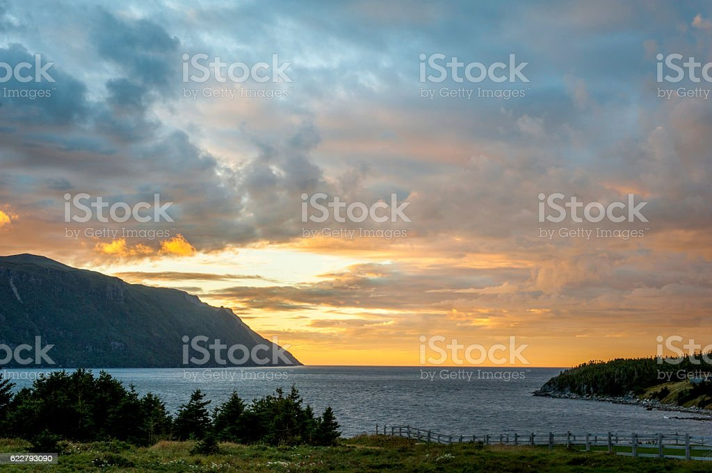 Bonne Bay stock photo