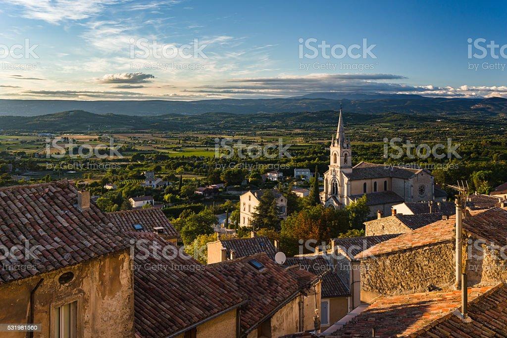 Bonnieux, France stock photo