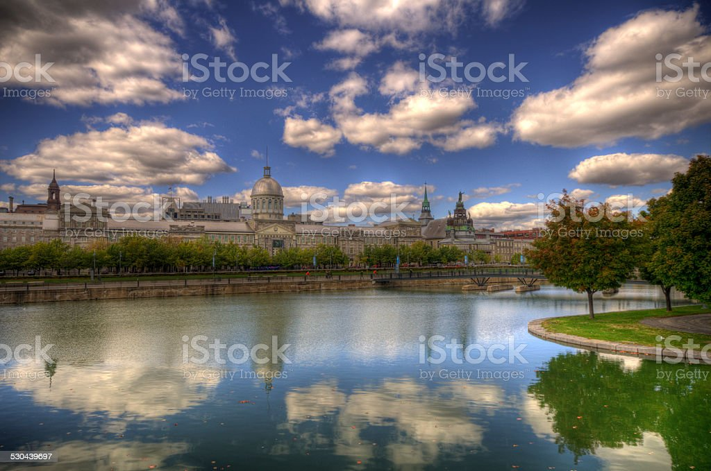 March? Bonsecours stock photo
