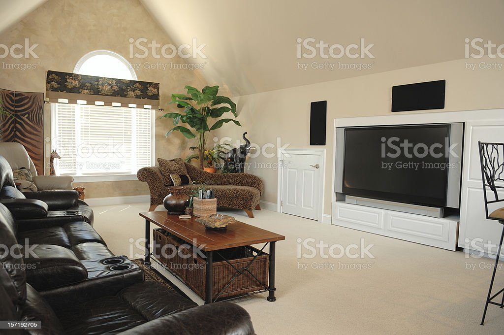 Bonus Room royalty-free stock photo
