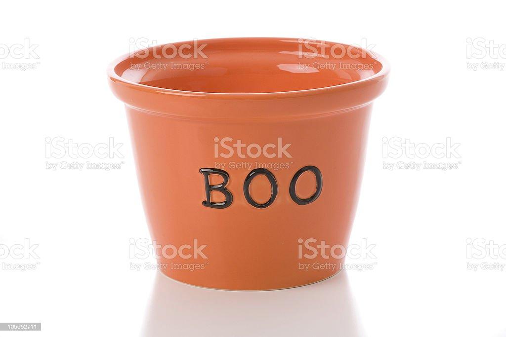 Boo Bowl royalty-free stock photo