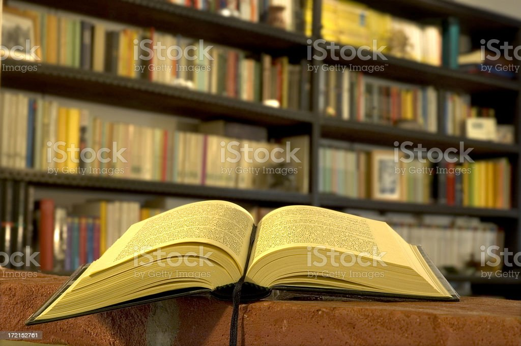 Book and library I stock photo