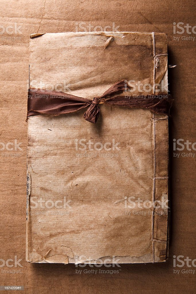book and ribbon royalty-free stock photo