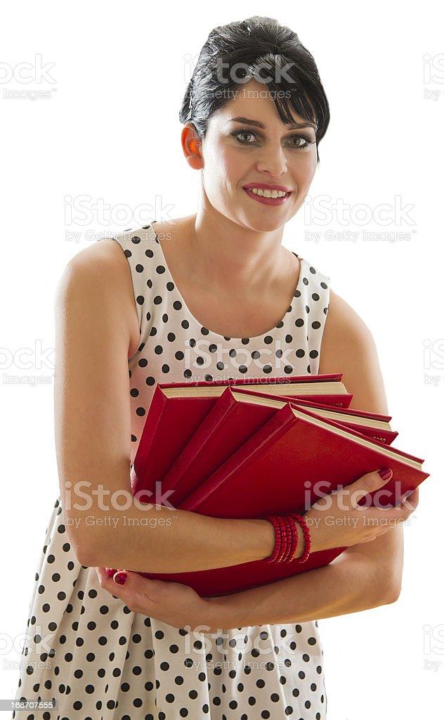 book are so heavy royalty-free stock photo