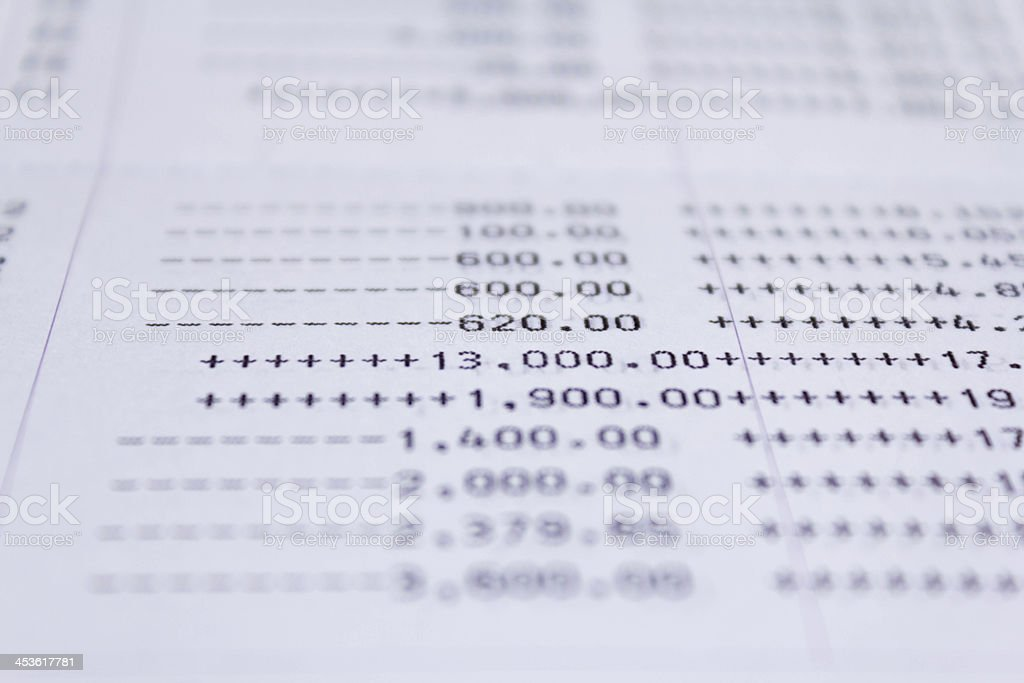 Book bank royalty-free stock photo