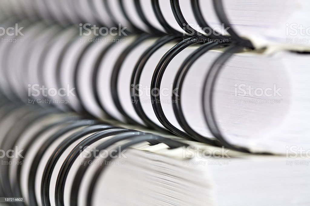 Book Binding royalty-free stock photo