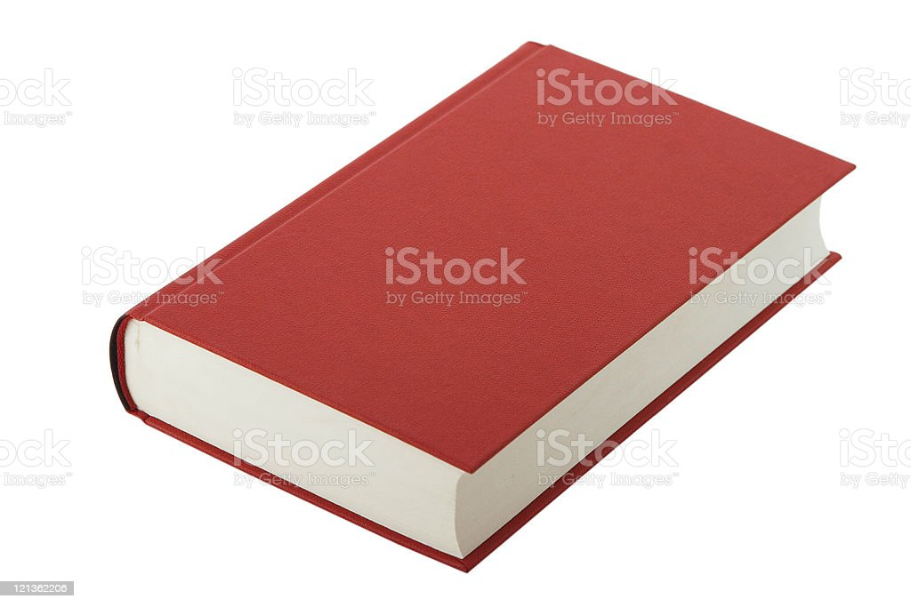 book, blank cover stock photo