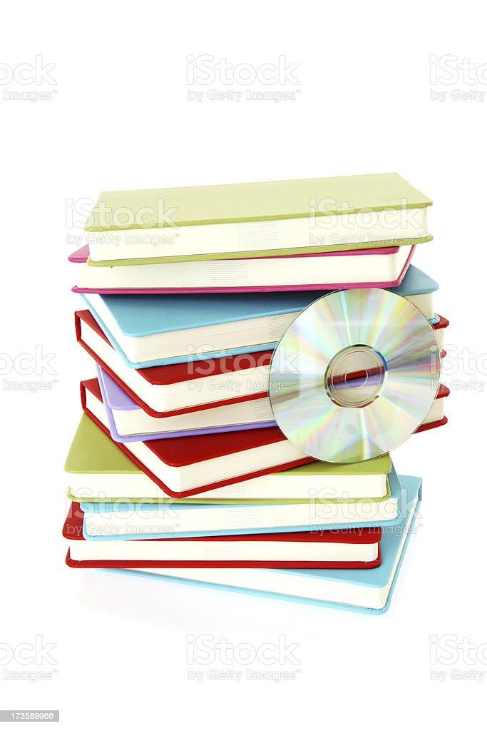 Book CD royalty-free stock photo