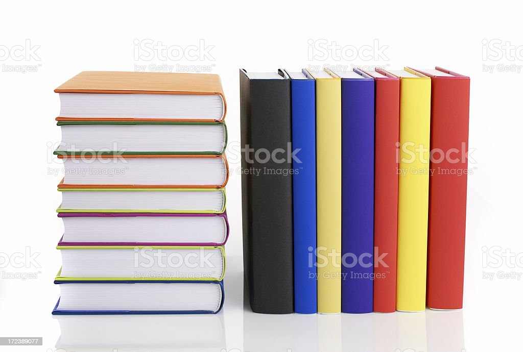 Book Collection royalty-free stock photo