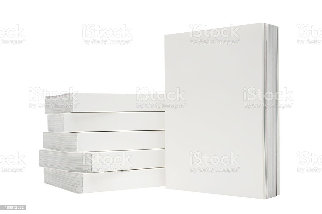 Book cover stock photo