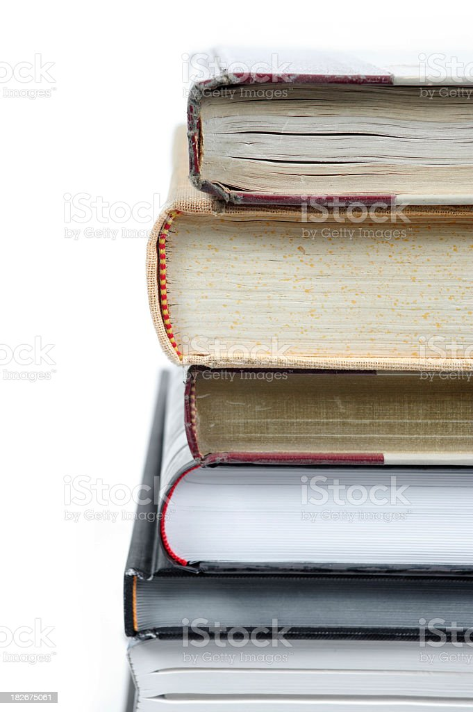 book ends royalty-free stock photo