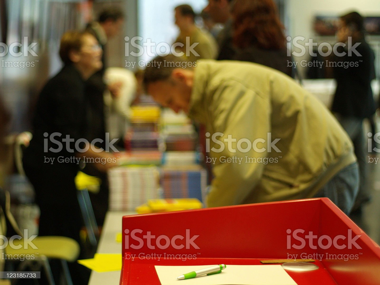 Book fair royalty-free stock photo