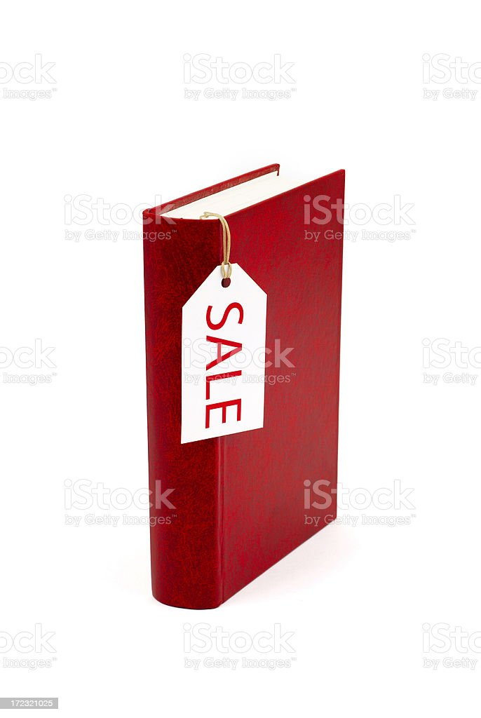 Book for Sale royalty-free stock photo