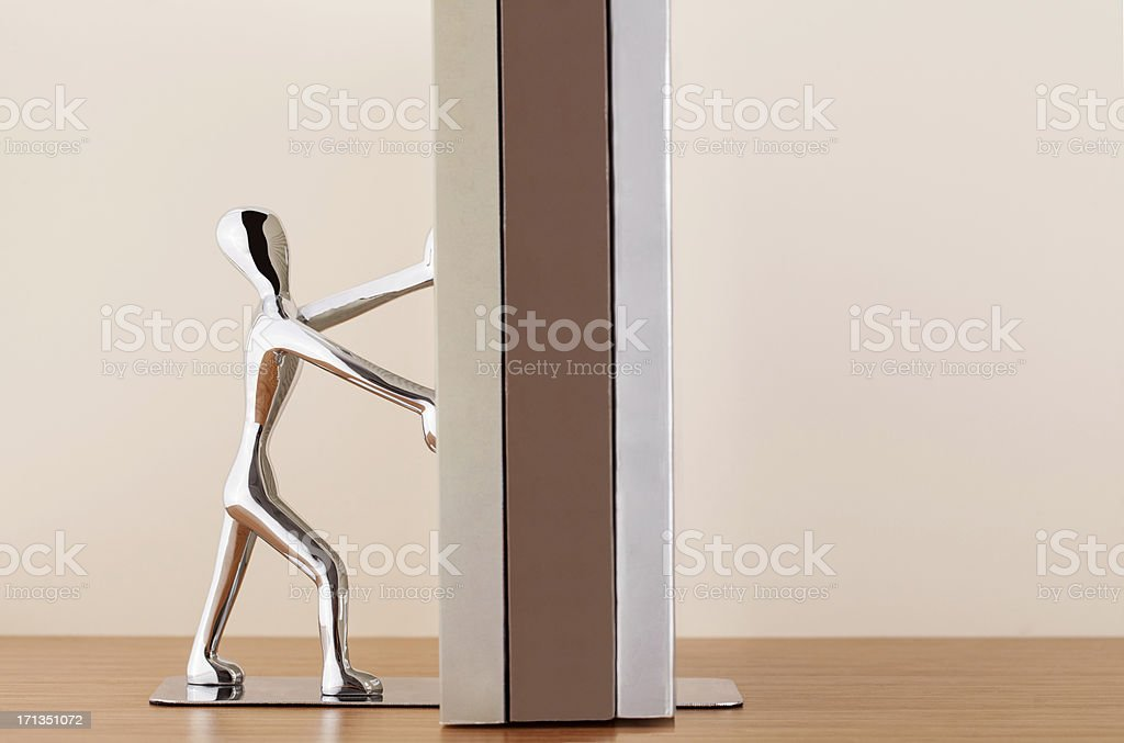 Book holders royalty-free stock photo