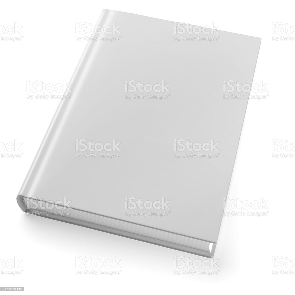 Book isolated on white stock photo