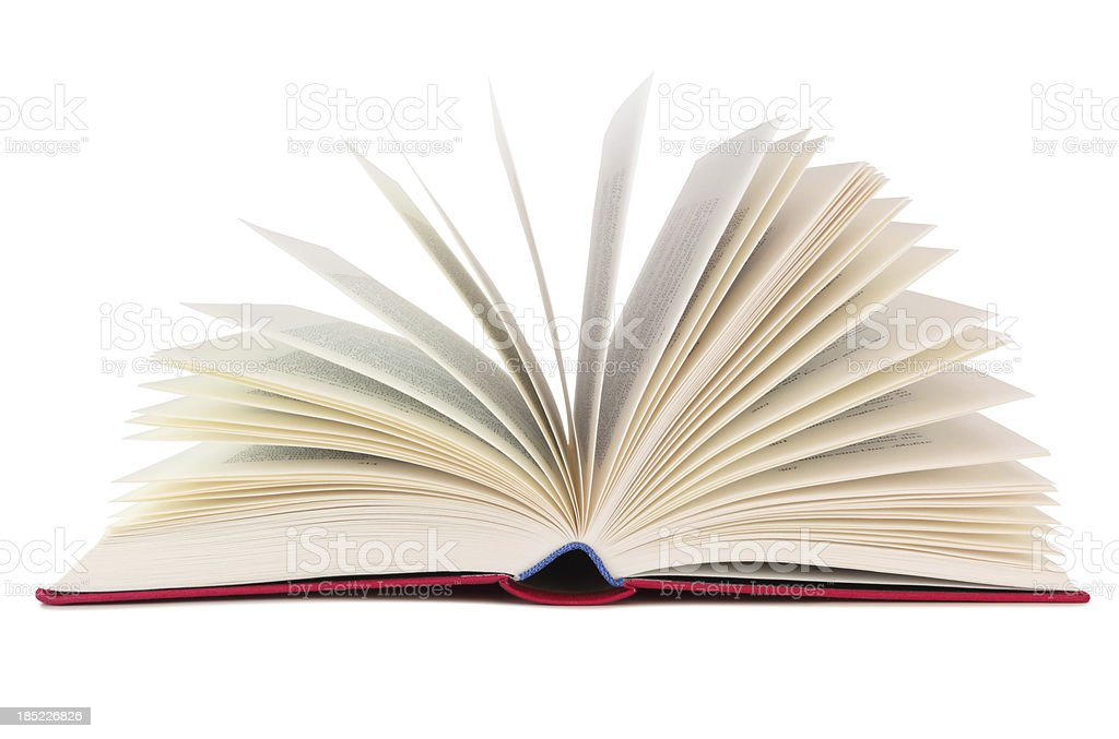 Book isolated stock photo