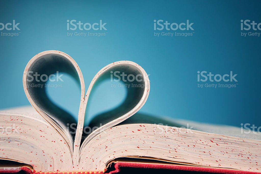 Book Love stock photo