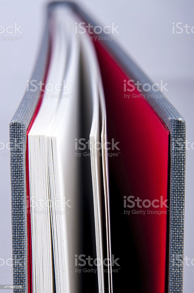 Book macro photography royalty-free stock photo