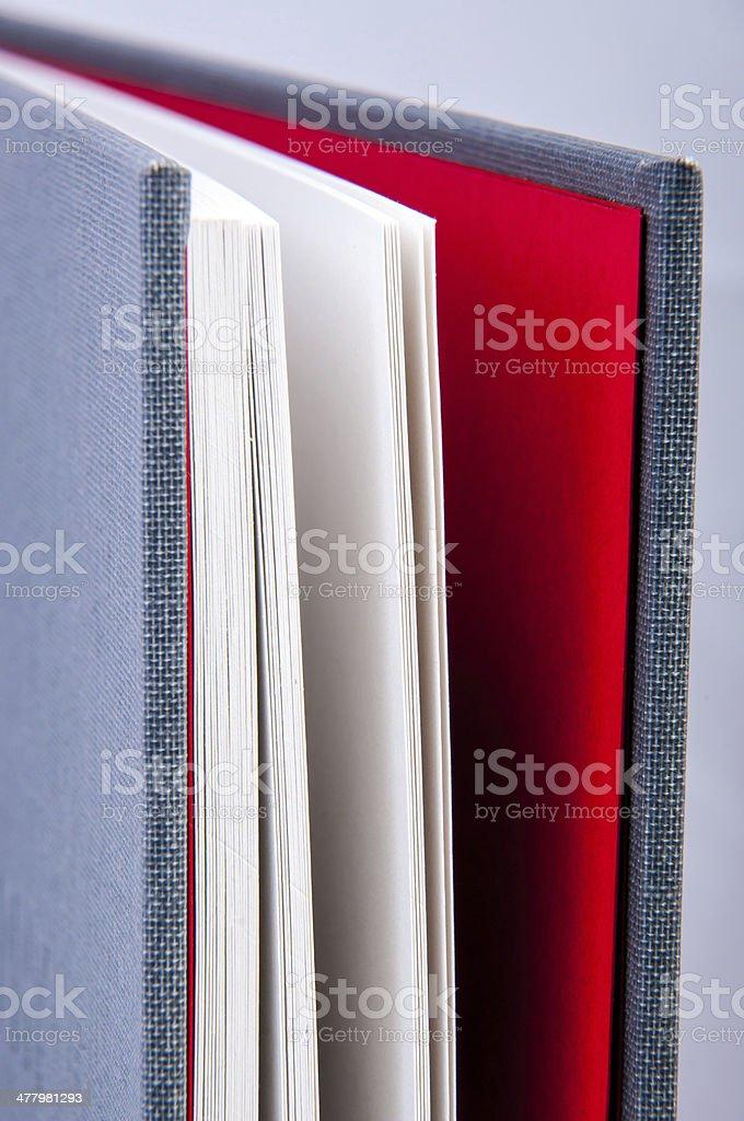 Book macro photography royalty-free stock photo