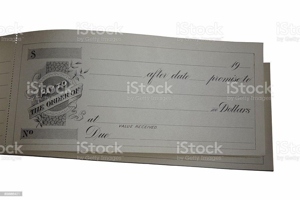 book of checks stock photo