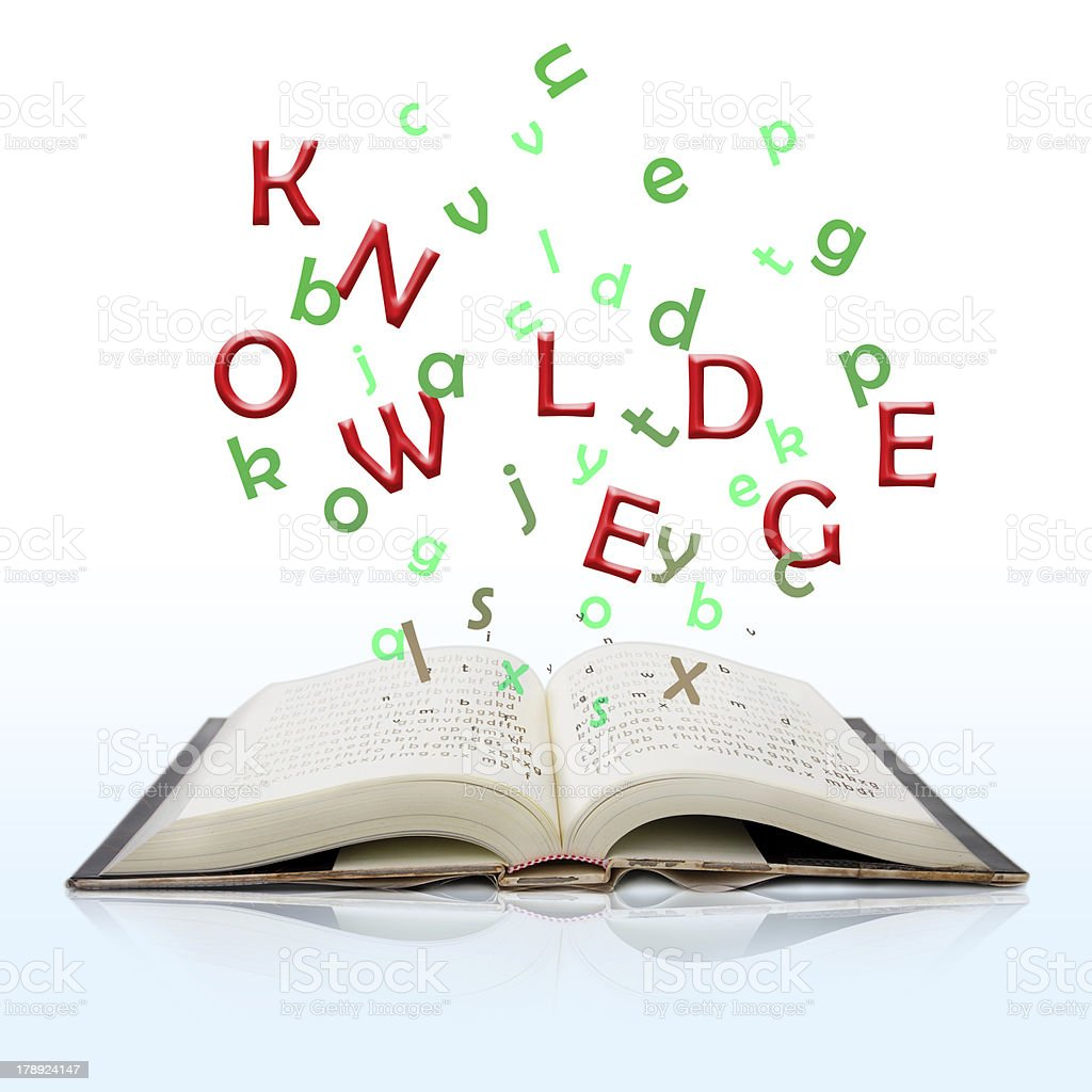 book of knowledge royalty-free stock photo