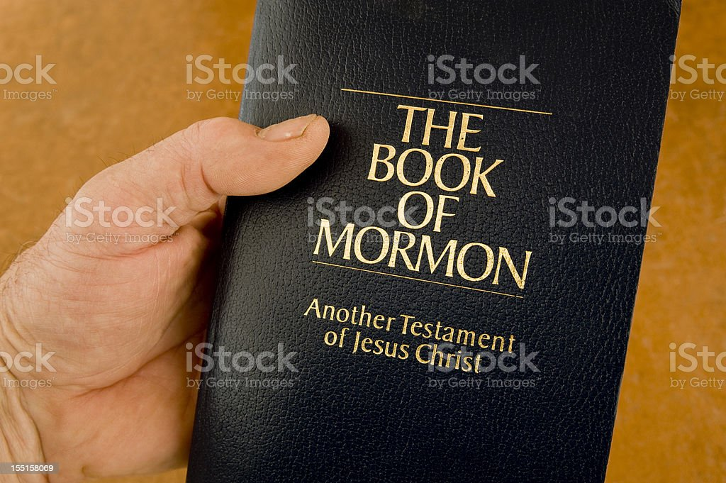 Book of Mormon stock photo