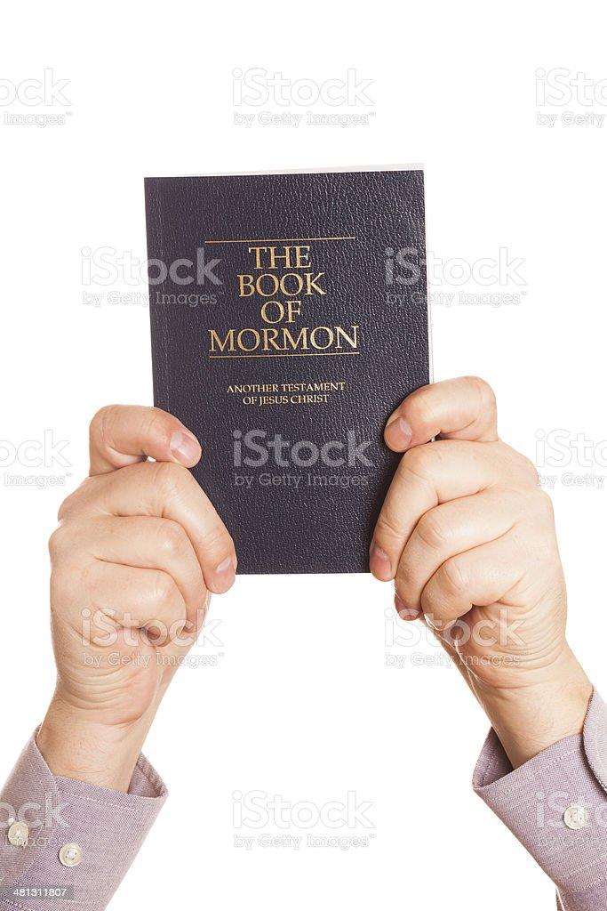 Book of Mormon royalty-free stock photo