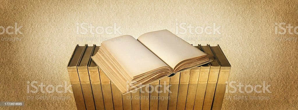 Book of Nothingness royalty-free stock photo
