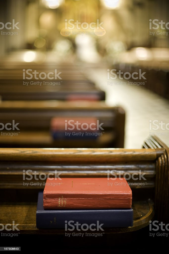 Book of prayers stock photo