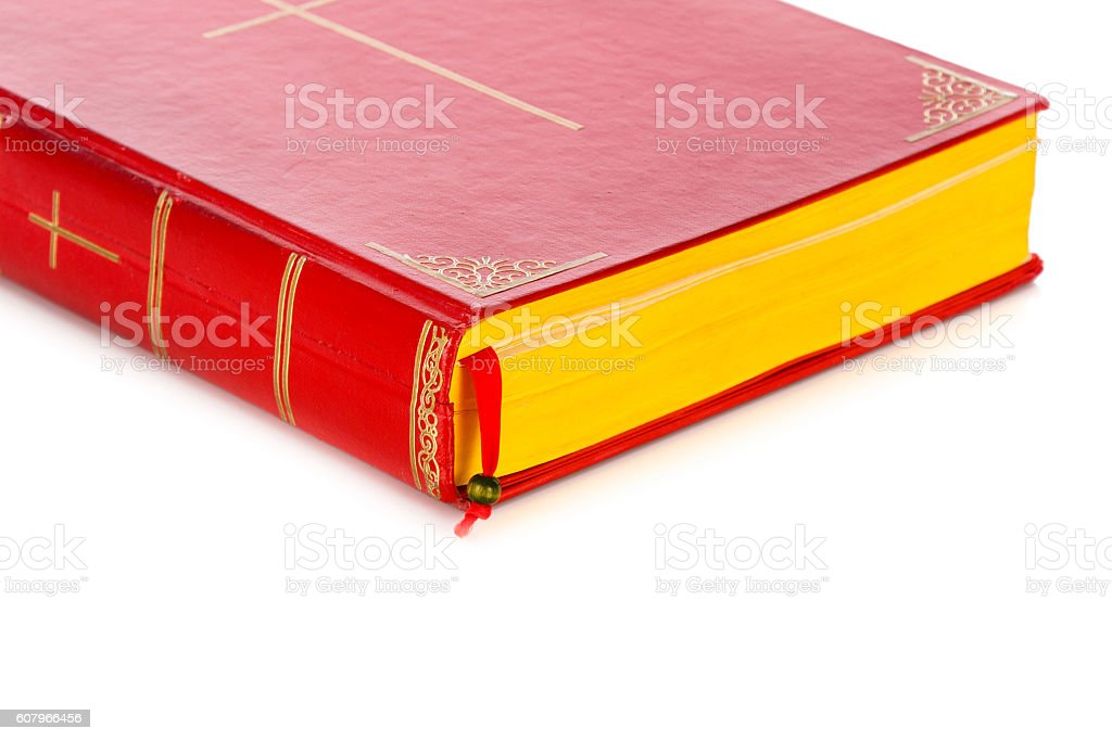 Book of Sinterklaas or St. Nicholas stock photo