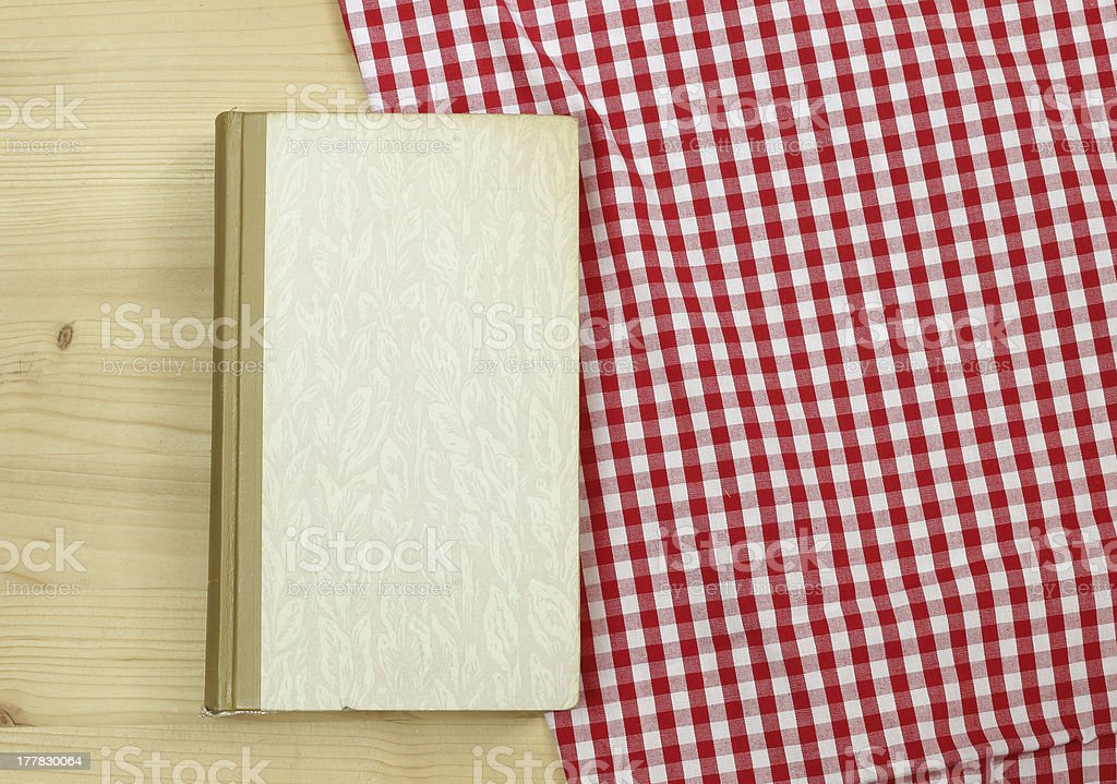 book on a table royalty-free stock photo