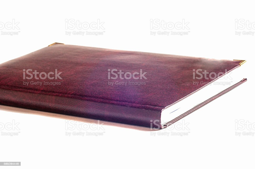 book on light table. Back to school. Copy space stock photo