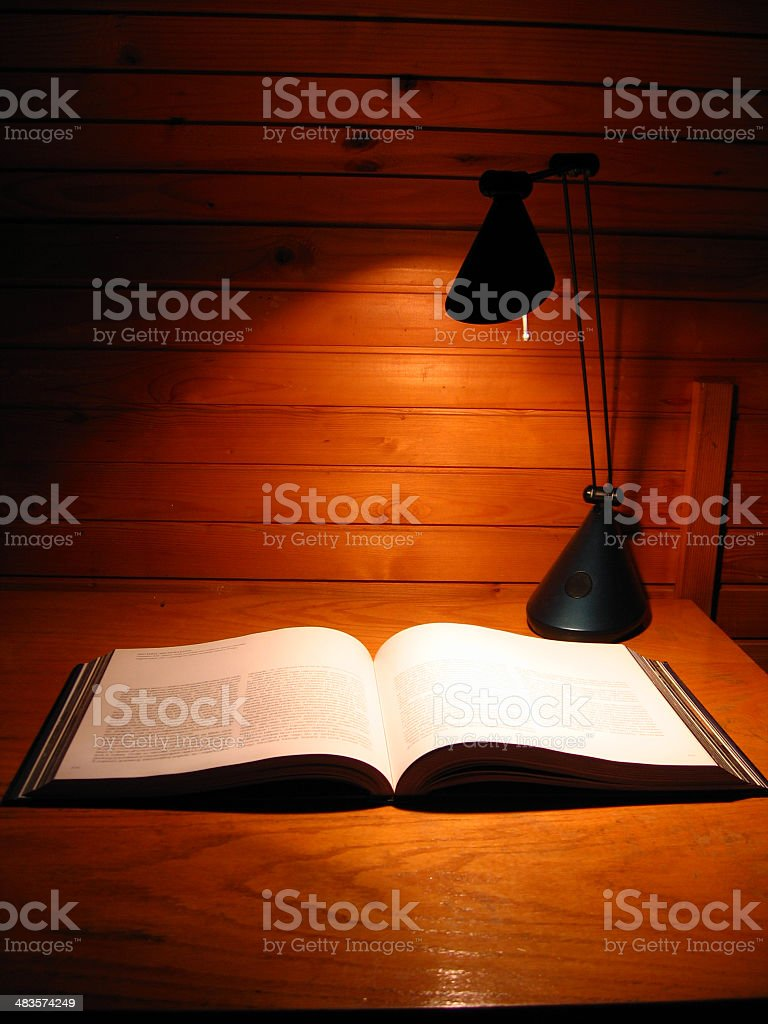 Book on table royalty-free stock photo