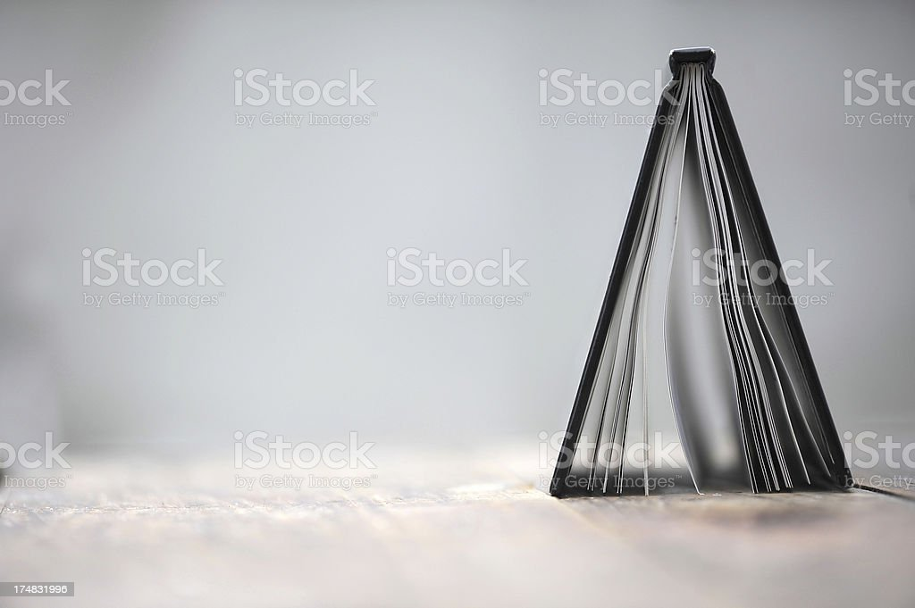 Book on the table royalty-free stock photo