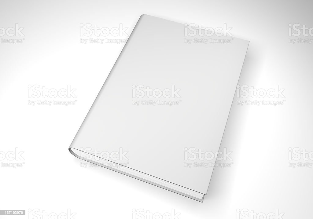 Book on white. royalty-free stock photo